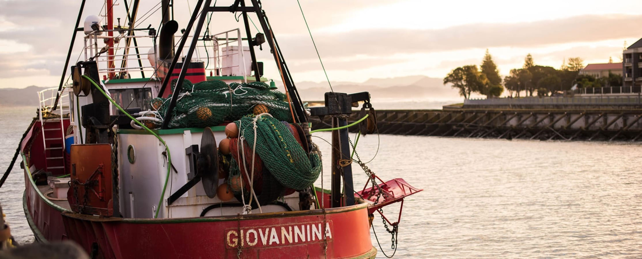 The fishing boat Giovannina