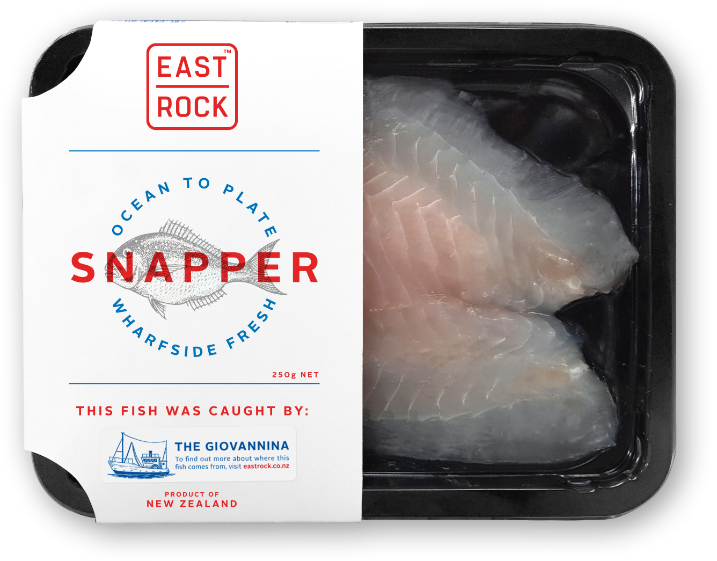 Eastrock Snapper 250g Tray